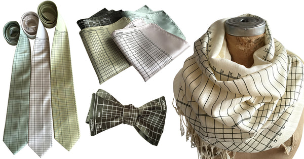 cyberoptix accounting themed neckties, bow ties scarves & pocket squares