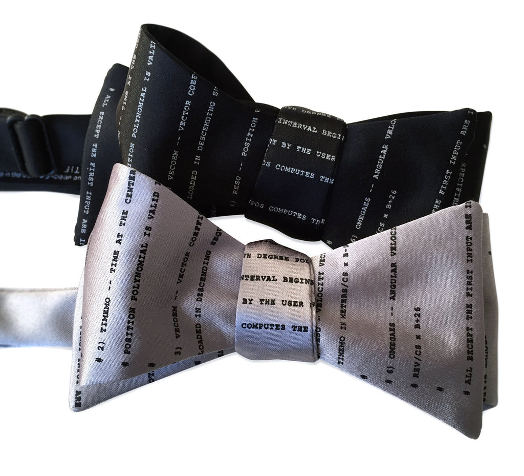 Apollo 11 source code bow tie
