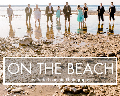 cyberoptix ties, beach wedding