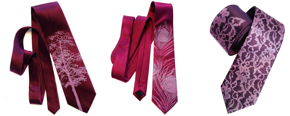 custom color neckties - have it your way! by Cyberoptix