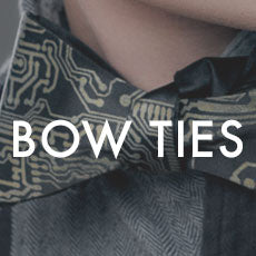custom printed bow ties, by cyberoptix