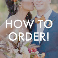 How to order cyberoptix custom wedding sets