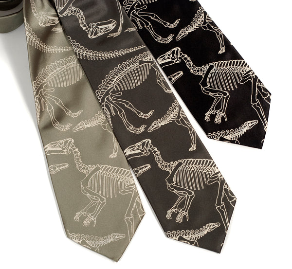 Dinosaur neckties