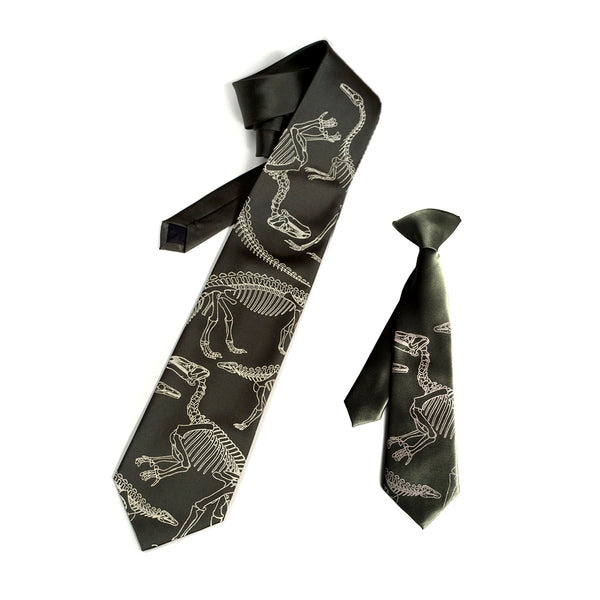 father and son dinosaur ties