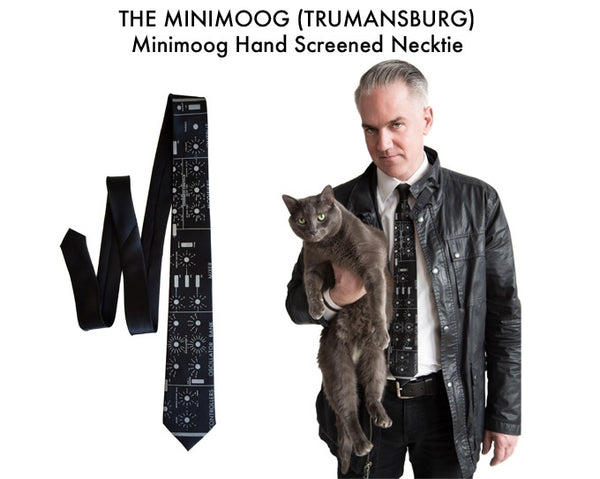 exclusive moog necktie kickstarter reward by cyberoptix