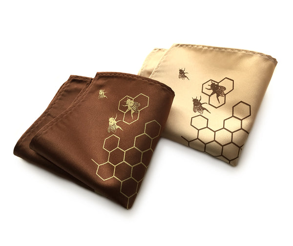 Honey Bee pocket squares