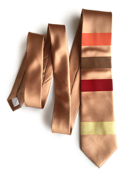 f0564daf0c2a We're offering this design in both vegan-safe microfiber and 100% silk  neckties. Value shown: 3.1k ohms, 5% tolerance. Orange, brown, red, gold  stripes with ...