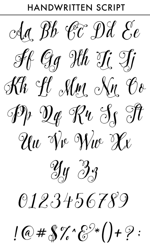Pretty script font for custom names, initials, monograms or wedding dates on neckties, cyberoptix