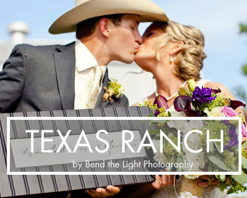 Texas Ranch Wedding, Antler Print Neckties