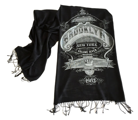 Brooklyn Scarf. New York City Linen-Weave Pashmina