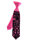 Boys Day of the Dead kids clip-on tie.