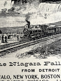 Michigan Central Railroad Art Print