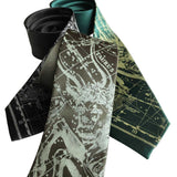 Taurus Neckties, Zodiac Constellation Star Chart Ties by Cyberoptix