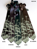 Wormwood Plant neckties