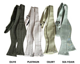 Accountant Bow Ties, Ledger Paper Print bowties, Cyberoptix
