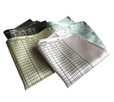 Accountant Pocket Squares, Ledger Paper Print. By Cyberoptix