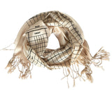 Accounting scarf, luxe weight. Accountant gift by Cyberoptix.
