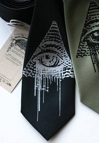 All Seeing Eye Necktie