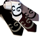 Ampersand wedding ties, by Cyberoptix