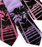 Laser kitty ties