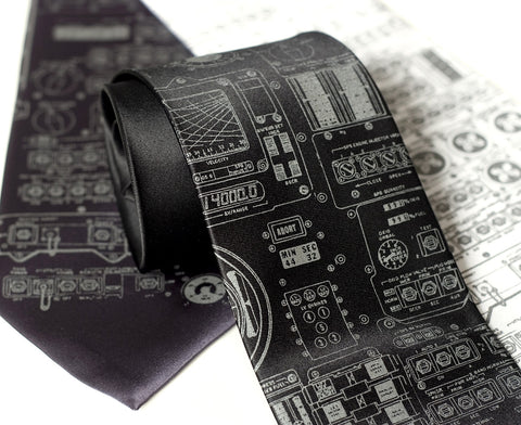 Apollo Cockpit Necktie. As worn by real astronauts!