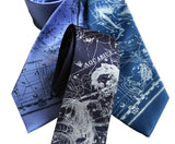 Aquarius the Water Carrier Ties, Horoscope Print Neckties, by Cyberoptix