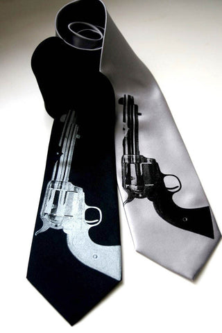 Aw Shoot! Silk Necktie