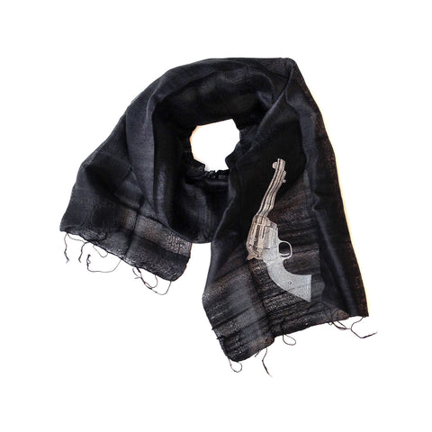 Aw Shoot! Silk Scarf