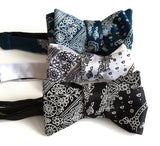 Urban inspired Bandana Print bow ties, by Cyberoptix