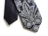 dark blue kids bandana tie