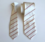 father and son baseball ties