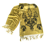 Custom Color Printed Scarves, Traditional Weight Pashmina
