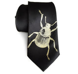 Black Beetle Necktie, by Cyberoptix