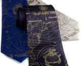 Antique brass ink on navy blue, royal blue, platinum microfiber