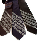 Bike Chain Stripe Neckties, by Cyberoptix