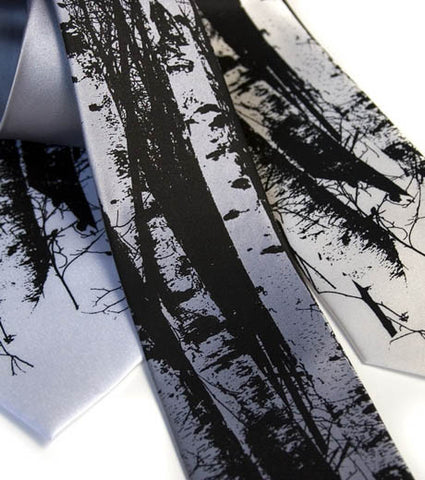 Birch Trees Necktie