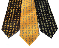 Bitcoin Necktie, Cryptocurrency Tie