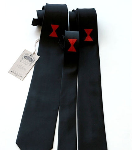 Black Widow Silk Necktie