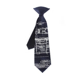 Boys blueprint necktie