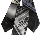 Boombox Print Neckties, Old School Ghetto Blaster Tie. Cyberoptix Tie Lab