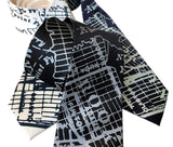 Brooklyn Subway Map Tie, Long Island Tie, by Cyberoptix