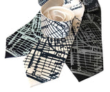 Brooklyn Map Necktie, New York Borough Tie, by Cyberoptix