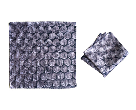 Bubble Wrap Pocket Square