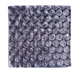 Bubble wrap print pocket silk