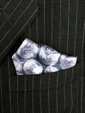 Bubble wrap print pocket square, by cyberoptix