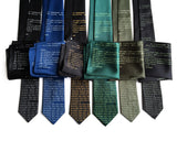 Commodore neckties and pocket squares, by Cyberoptix