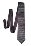 charcoal BASIC code necktie