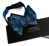 Blue BASIC Code bow tie.