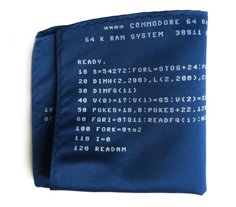 c64 Pocket Square. BASIC Code Commodore 64 Print