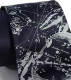 Cancer Constellation Star Chart Necktie
